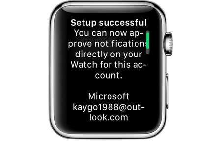 Microsoft Authenticator Companion App For Apple Watch 2