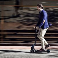 Un joven de 18 años ha sido el primer sancionado por conducir un patinete en estado ebrio en Lisboa