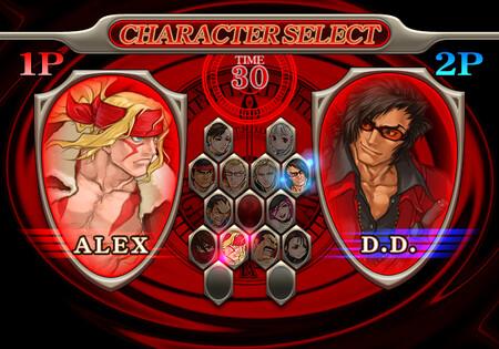 Capcom Fighting Allstars Selection Screen Cfn Portal