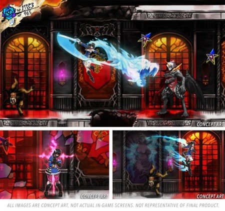 Lo de Bloodstained: Ritual of the Night va para largo: hasta la primera mitad de 2018 no saldrá