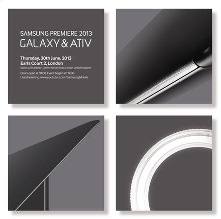 Samsung presentará nuevos telefonos en evento el 20 de Junio