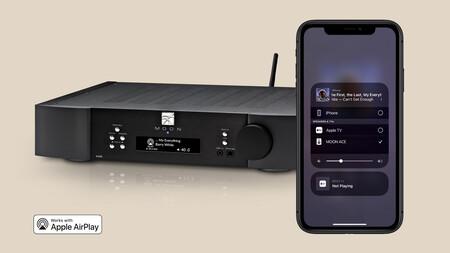 Simaudio actualiza sus reproductores en streaming Moon: ahora ya son compatibles con Spotify Connect y AirPlay 2