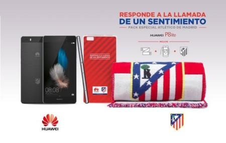 Huawei P8 Lite Edición Atlético De Madrid