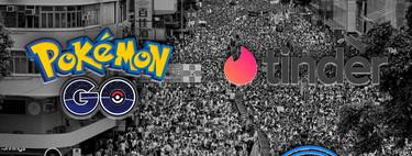 Así es como 'Pokémon Go', 'Tinder' y otras apps se han convertido en herramientas importantísimas en las manifestaciones de Hong Kong