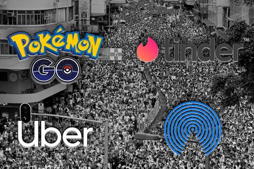 Así es como 'Pokémon Go', 'Tinder' y otras apps se han convertido en herramientas importantísimas en las manifestantes de Hong Kong
