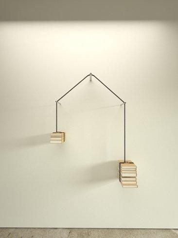 Libros leídos y por leer, una estantería con equilibrio imposible
