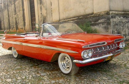 Los coches de Cuba