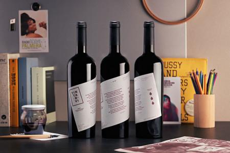 Botellas de Tinta de Vi
