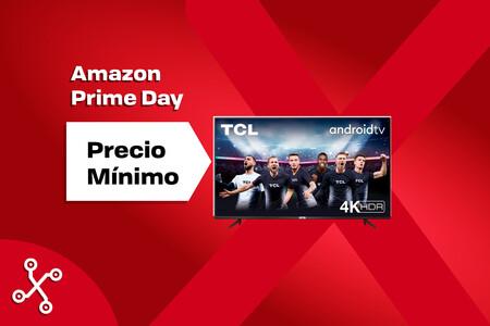 Esta smart TV 4K de TCL es de 55 pulgadas, tiene Android TV y cuesta menos de 400 euros en el Prime Day
