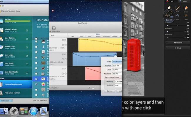 Tres pequeñas aplicaciones desde la Mac App Store