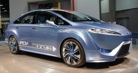 Toyota FCV-R hidrógeno
