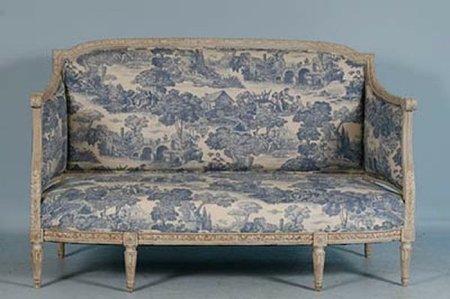sofa estilo gustaviano