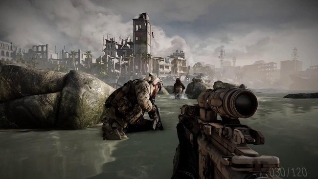 Medal Of Honor Warfighter Splash Image
