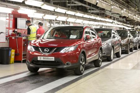 Nissan Qashqai factoría de Sunderland