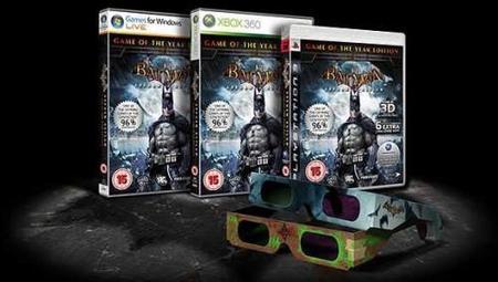 'Batman: Arkham Asylum' en 3D a finales de mes