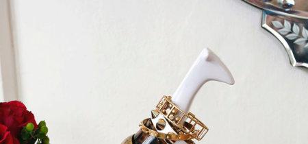 Preciosas y extravagantes ideas para organizar tus joyas