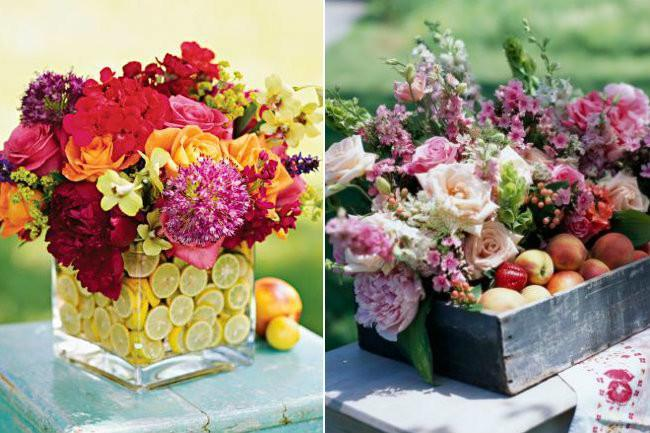 Consejos e ideas para llenar de vida tu centro de mesa - Frutas artificiales para decoracion ...