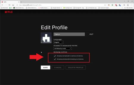 Como Desactivar Autoplay Netflix