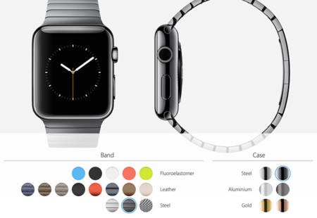 ¿Cómo será tu Apple Watch? Compara todas las combinaciones de caja y correa
