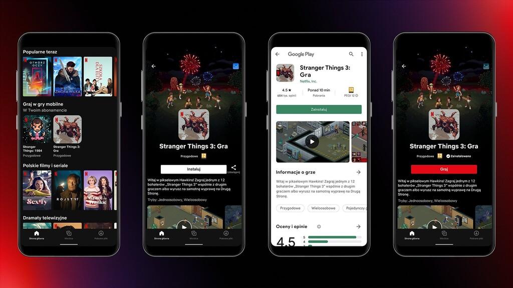 Netflix inicia su apuesta por los videojuegos probando dos juegos de 'Stranger Things' para Android en Polonia