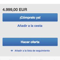 Para sorpresa de nadie, ya hay gente revendiendo la PS5 por 4.999 euros en eBay
