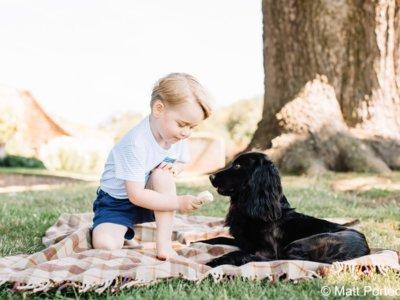 George de Cambridge ya tiene tres adorables años