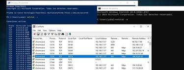Cómo ver los puertos que tienes abiertos en tu ordenador Windows