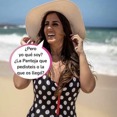 Panto sensualidad al cuadrado: Anabel Pantoja denuncia el plagio de su bañador en AliExpress
