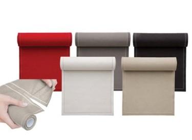 Una buena idea: rollo de papel y servilletas, dos en uno
