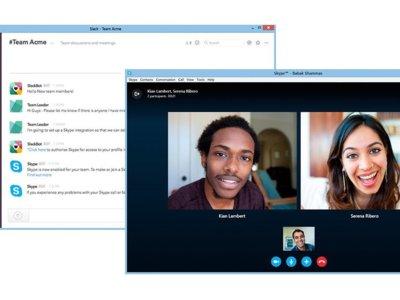 Skype se integra con Slack para traer llamadas de voz y vídeo
