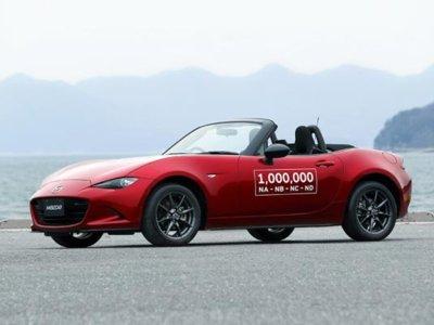 Un millón de motivos para celebrar, el Mazda MX-5 llegó a un millón de unidades producidas