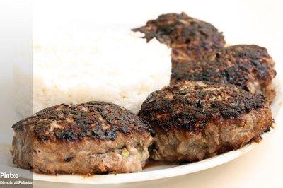 Receta de hamburguesa japonesa