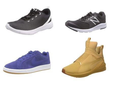 Ofertas en zapatillas deportivas Puma, Nike, Under Armour o New Balance: tallas sueltas por 30 euros o menos en Amazon
