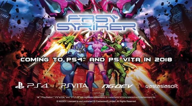 Fast Striker, el shmup antaño exclusivo de Neo Geo y Dreamcast, saldrá en breve en PS4 y Vita