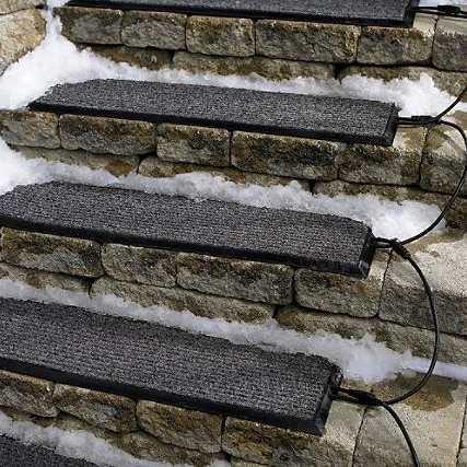 Adiós a la nieve y el hielo que se acumula en tus escalones