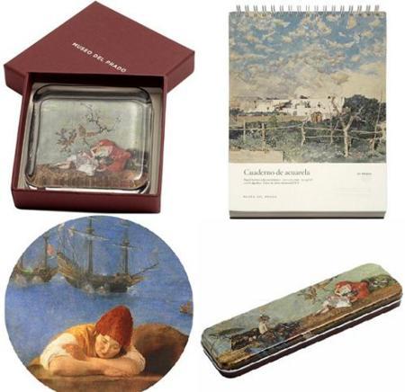 Regalos de Navidad: obsequia arte con los productos de la Tienda Prado