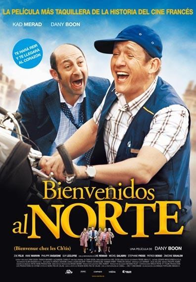 'Bienvenidos al norte', póster y trailer de la película francesa más exitosa del año