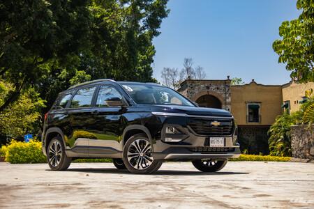 Chevrolet Captiva 2022, al volante del nuevo SUV compacto de GM: motor turbo y tres filas