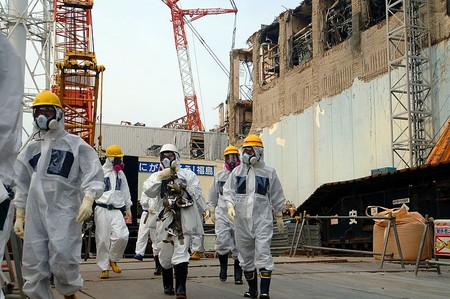 Iaea Experts At Fukushima 02813336