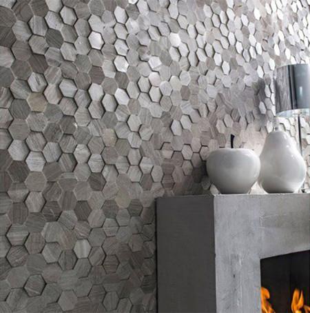 Apuesta por el gris la alternativa al blanco y negro que for Palmetas de marmol