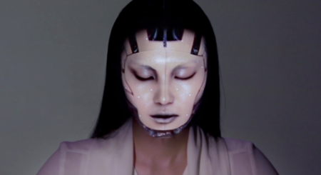 Este sistema de proyección es capaz de maquillarte virtualmente en tiempo real