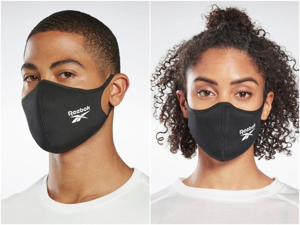 Reebok, como Adidas, lanza sus mascarillas higiénicas, lavables, reutilizables y solidarias