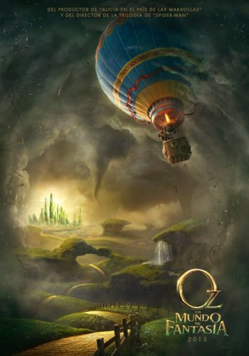 'Oz: Un mundo de fantasía', primer cartel de lo nuevo de Sam Raimi