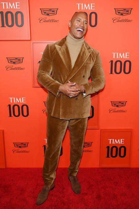 Dwayne Johnson Time 100 Gala 2019 Red Carpet Alfombra Roja
