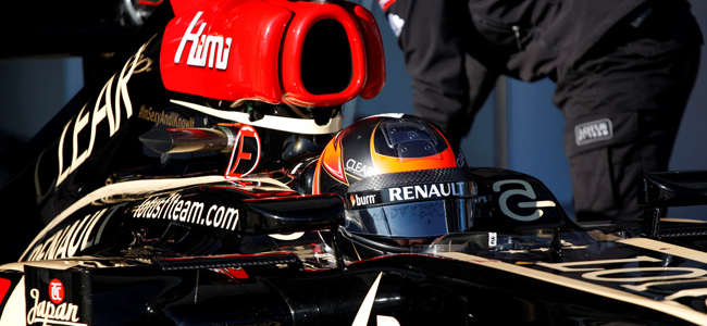 Kimi Raikkonen Jerez 2013