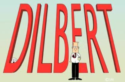 La serie de televisión de Dilbert resucitada en Internet, en formato corto
