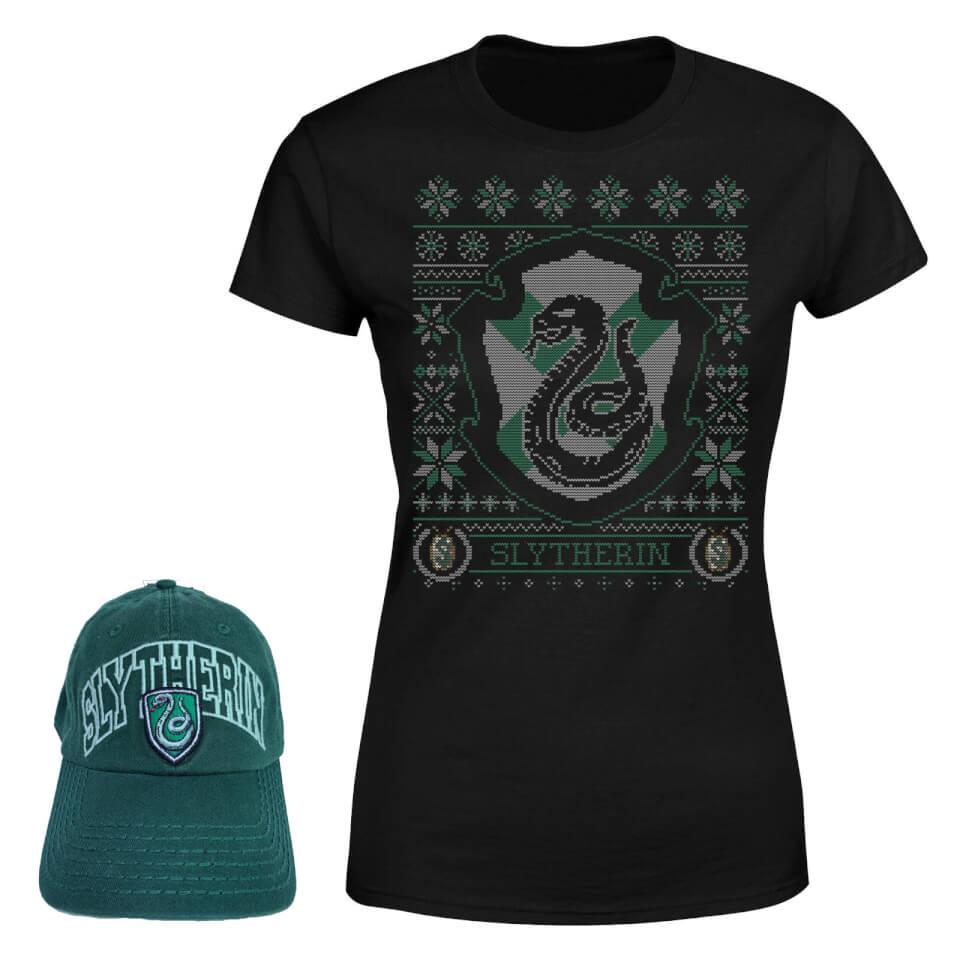 Camiseta y gorra de Slytherin