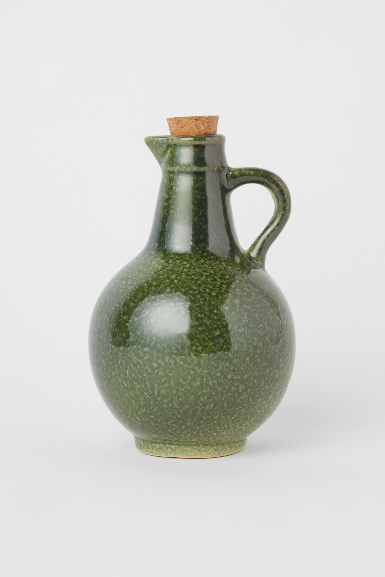 Aceitera de cerámica vintage