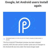 Android P bloquea el uso de temas de Substratum: firma esta petición si te parece mal