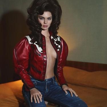 Convertidas en vaqueras de los 60, Kendall y Bella protagonizan el fashion film de Dsquared2